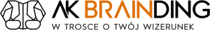 Logo firmy AK Brainding - Agencja Marketingowa Gdańsk. W trosce o Twój wizerunek.