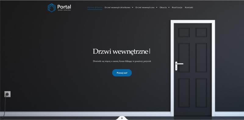 Drzwi Portal WWW AK Brainding