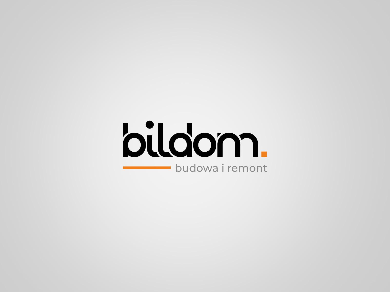 Projekt graficzny logo dla firmy Bildom
