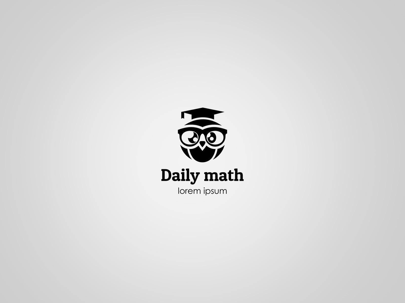 Projekt graficzny logo Daily Math