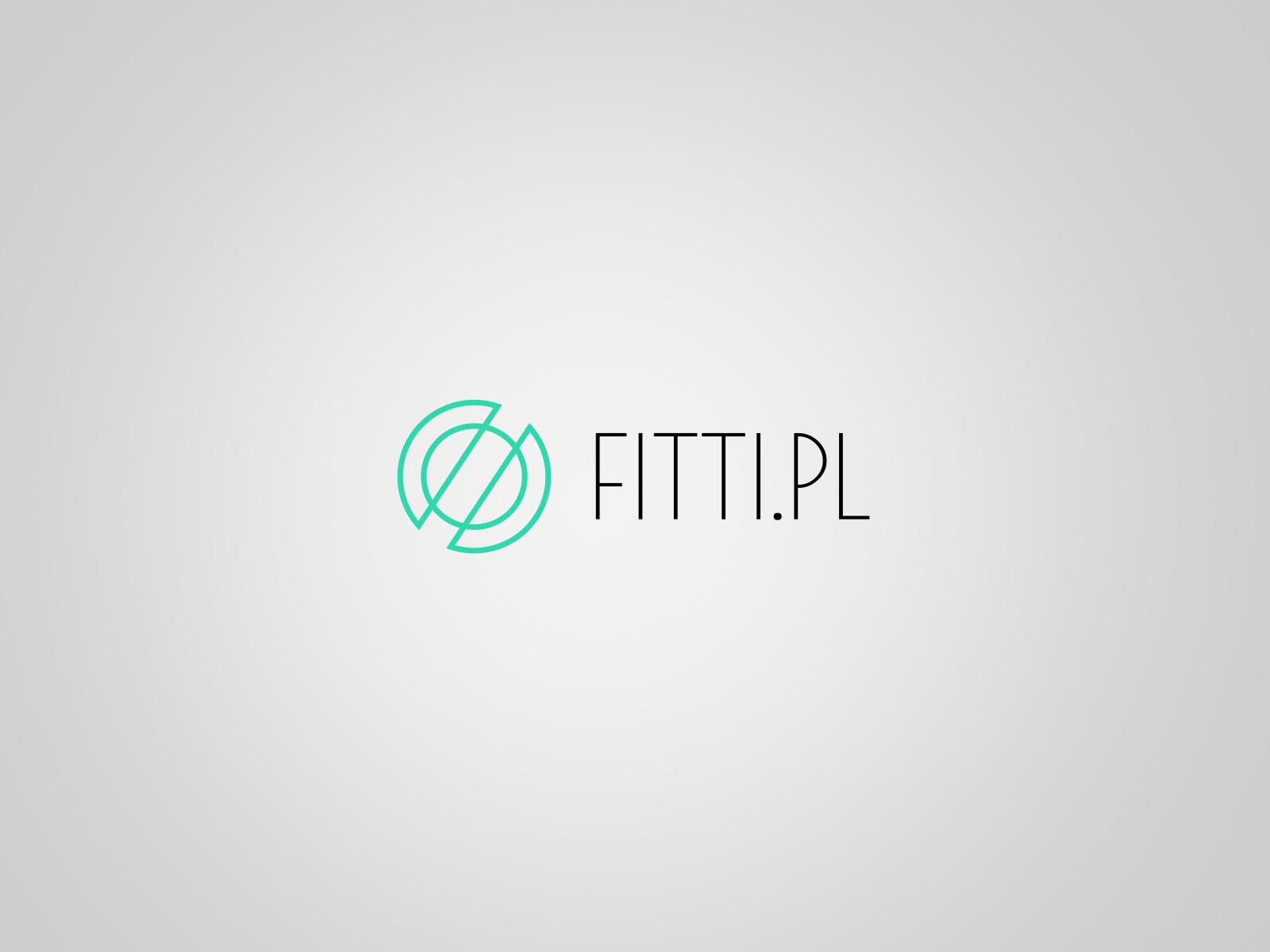 Projekt graficzny logo dla firmy Fitti.pl