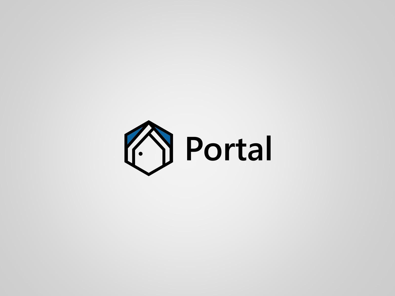 Projekt graficzny logo dla firmy Portal