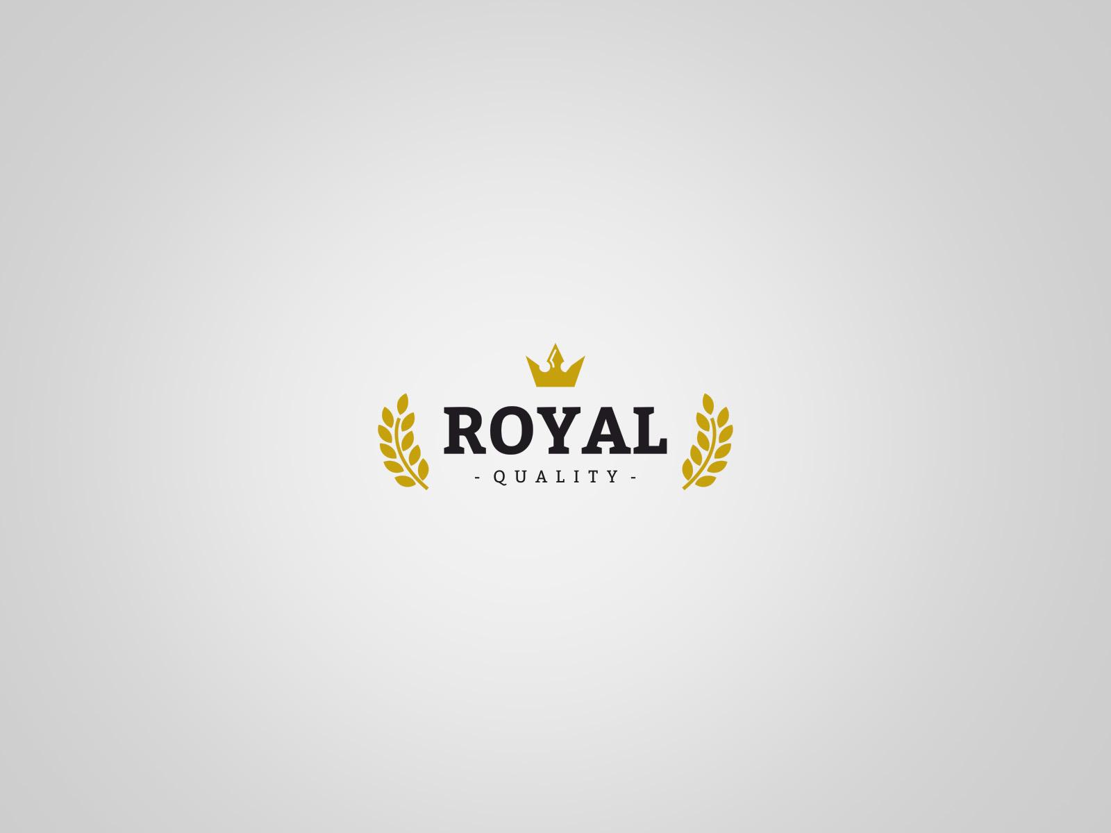 Projekt graficzny logo Royal Quality