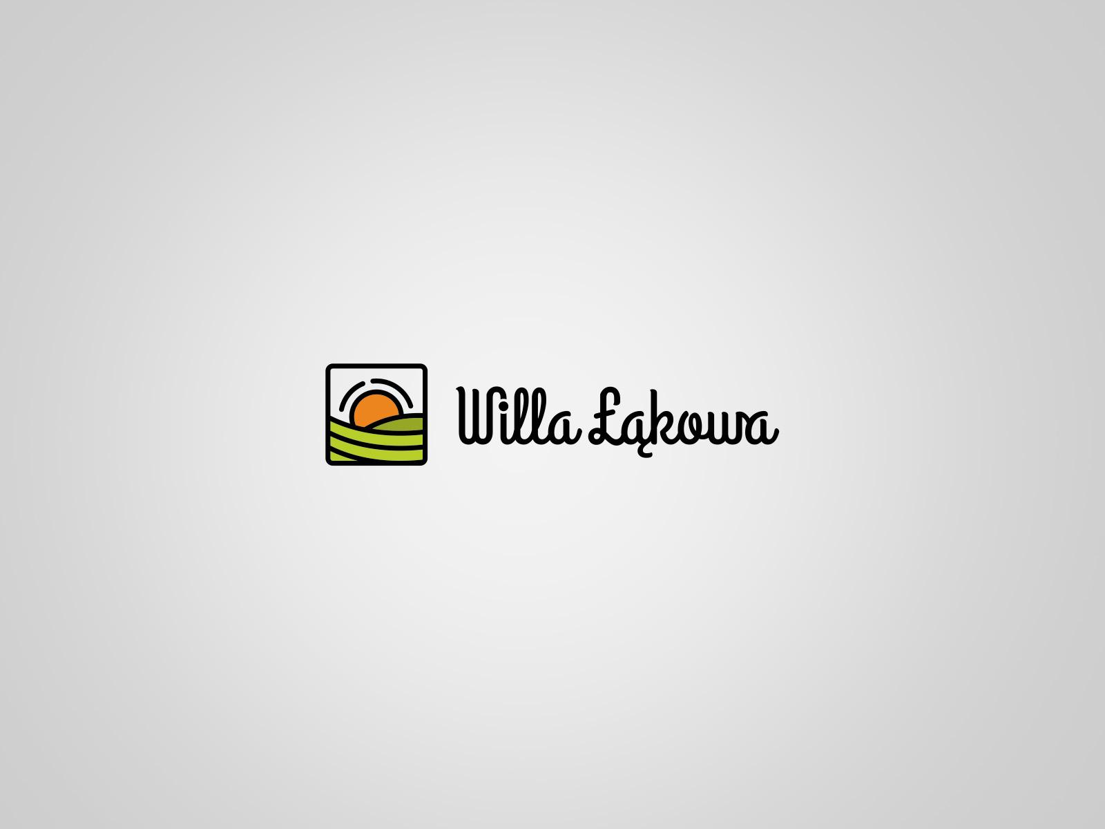 Projekt graficzny logo Willa Łąkowa